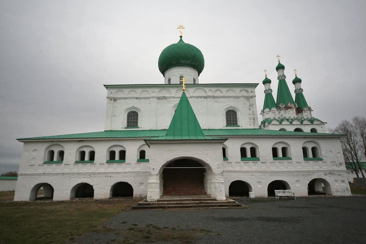 «Северная Лавра»: монастырь преподобного Александра Свирского