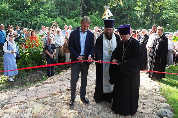 На пересечении тропы, которой ходил святой Сергий Радонежский, открыли Музей дороги