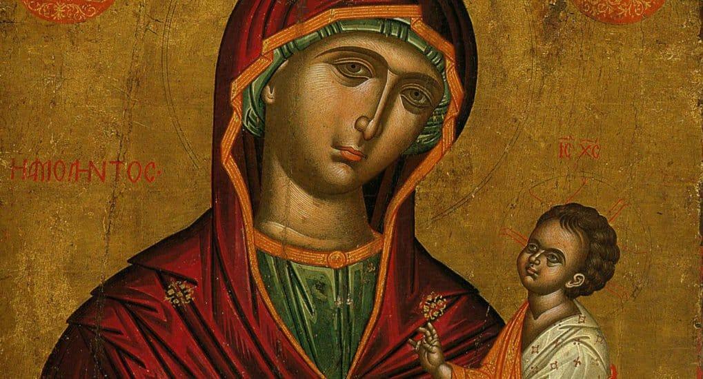 Что делать с иконой с острова Крит?