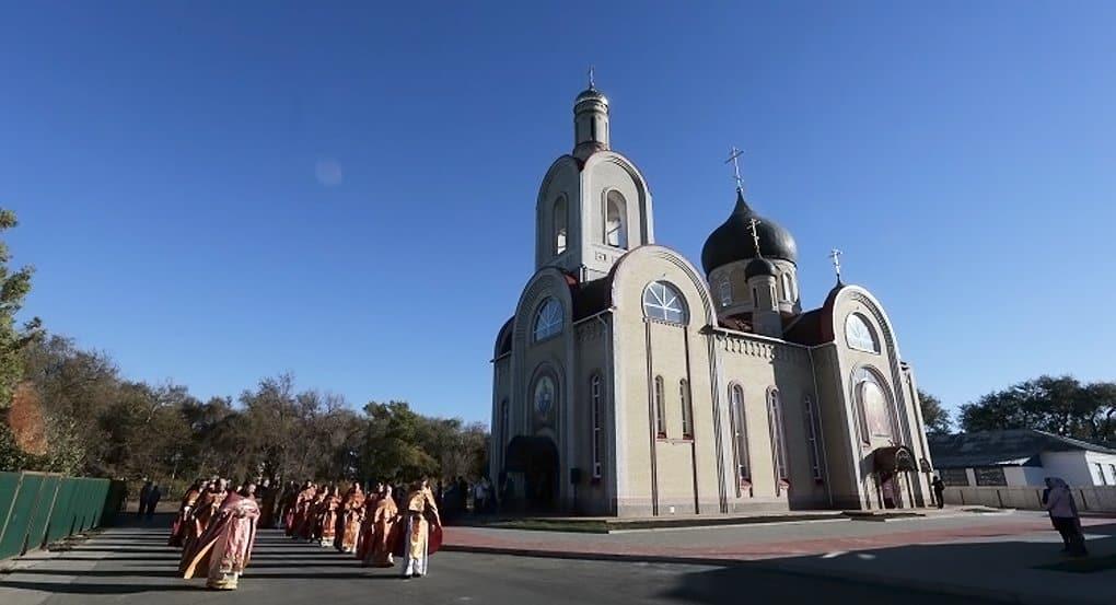В честь святого цесаревича Алексия в Калмыкии освятили храм
