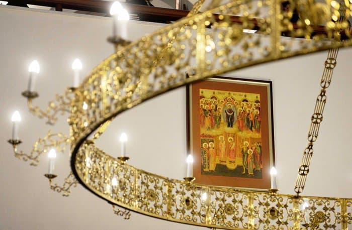 В Отрадном освятили храм в честь иконы «Неопалимая Купина»