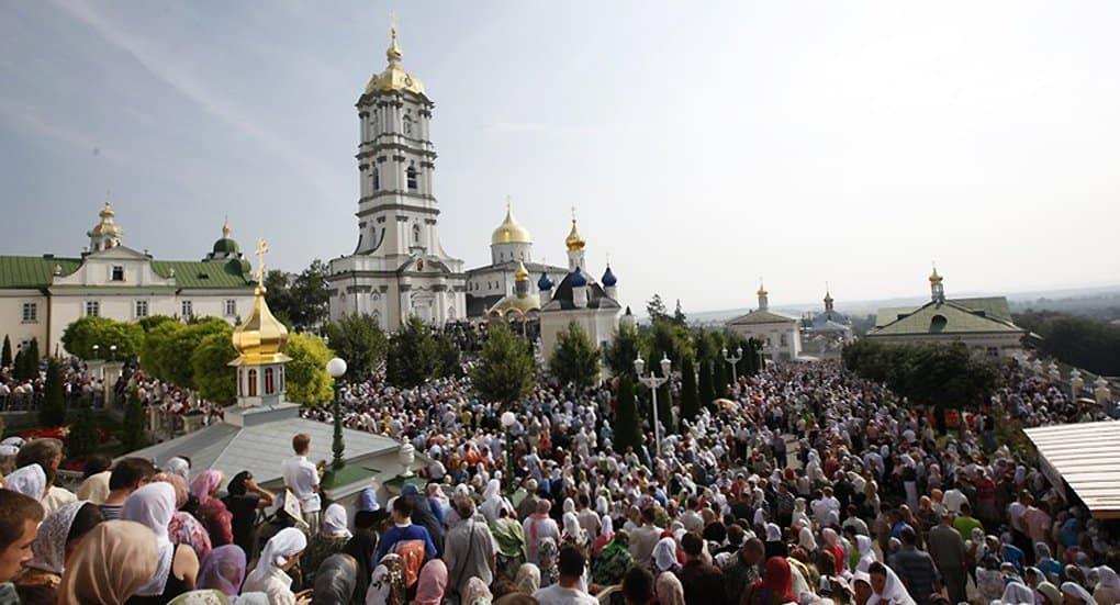 Действия против Почаевской лавры свидетельствуют о запугивании верующих Украины, - Владимир Легойда