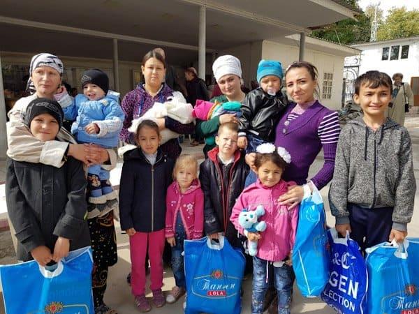 Бесплатную столовую и центр гумпомощи открыла в Душанбе Русская Церковь