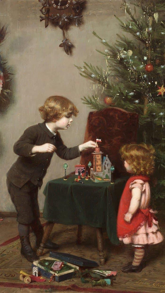 Рождественские обои для смартфона от «Фомы»