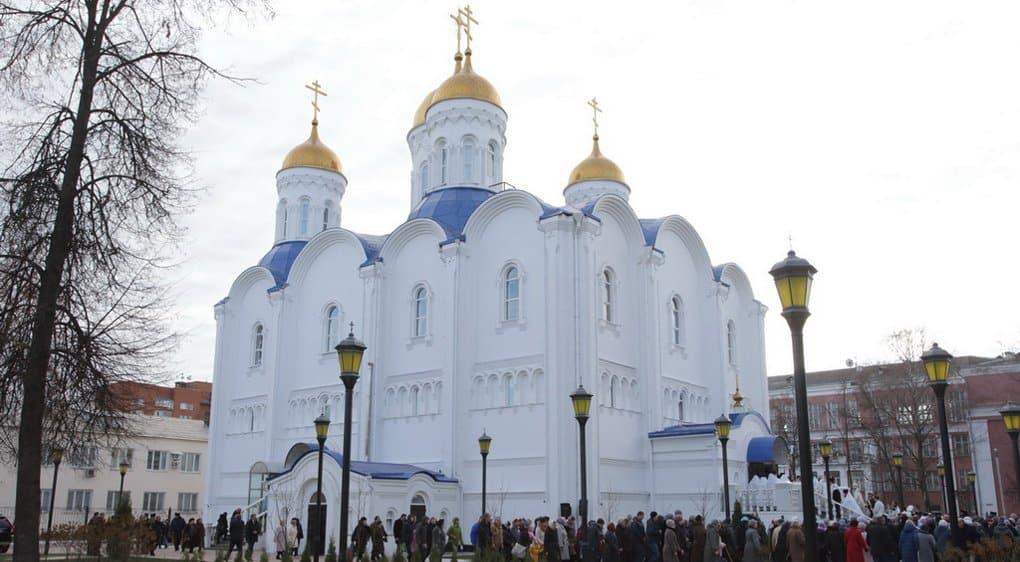В Воскресенске освятили новый храм и вспомнили местных новомучеников