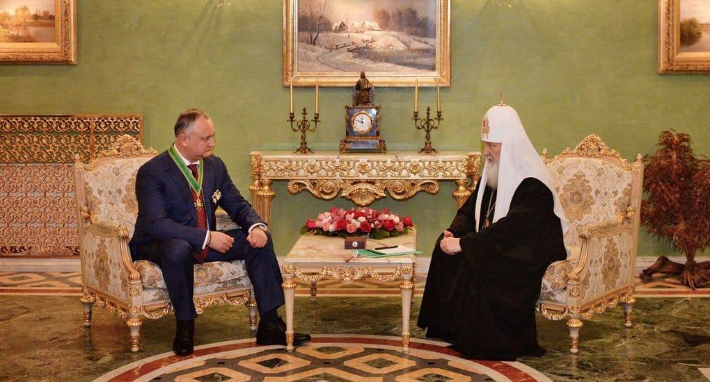 В Молдове самый высокий процент православных на постсоветском пространстве, - патриарх Кирилл