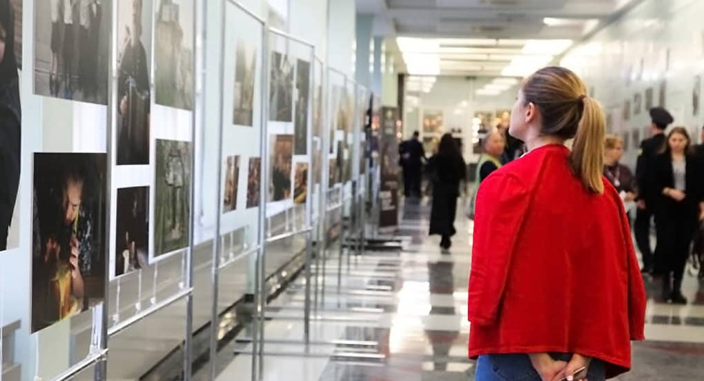 Тысячи людей посетили мультимедийную выставку журнала «Фома» в Госдуме России