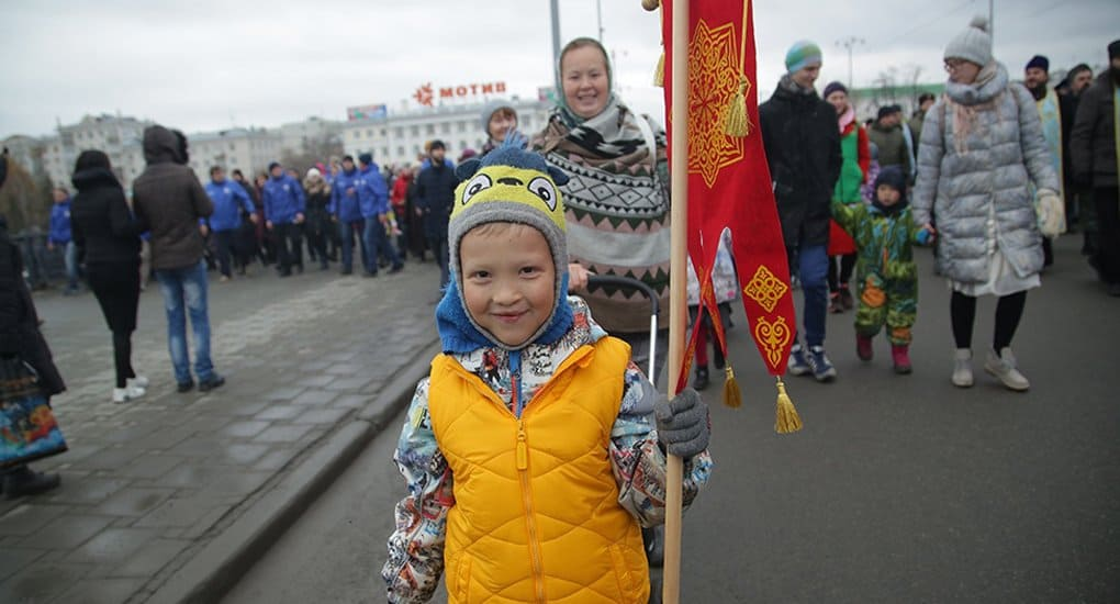 В Екатеринбурге 4 ноября прошел праздничный крестный ход