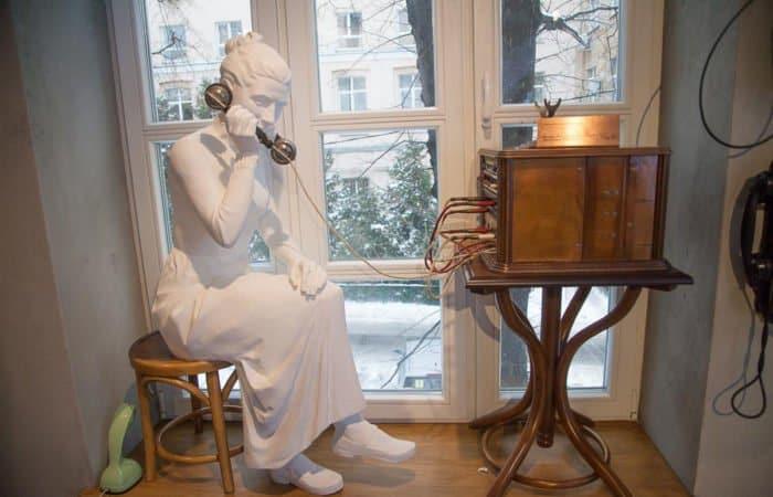 От оптического телеграфа, изобретенного священником, к современному телефону: один необычный музей Москвы