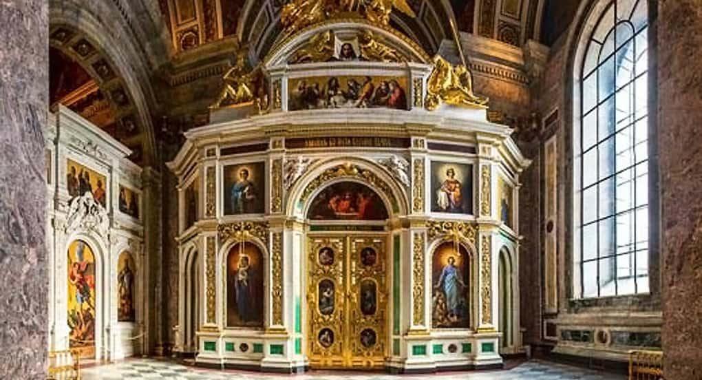 В Исаакиевском соборе Петербурга освятили придел святой Екатерины