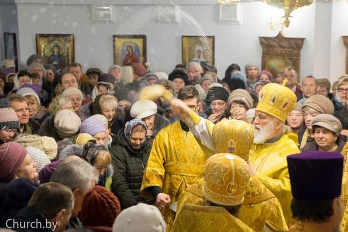 В белорусском Молодечно освятили храм в честь Царской семьи