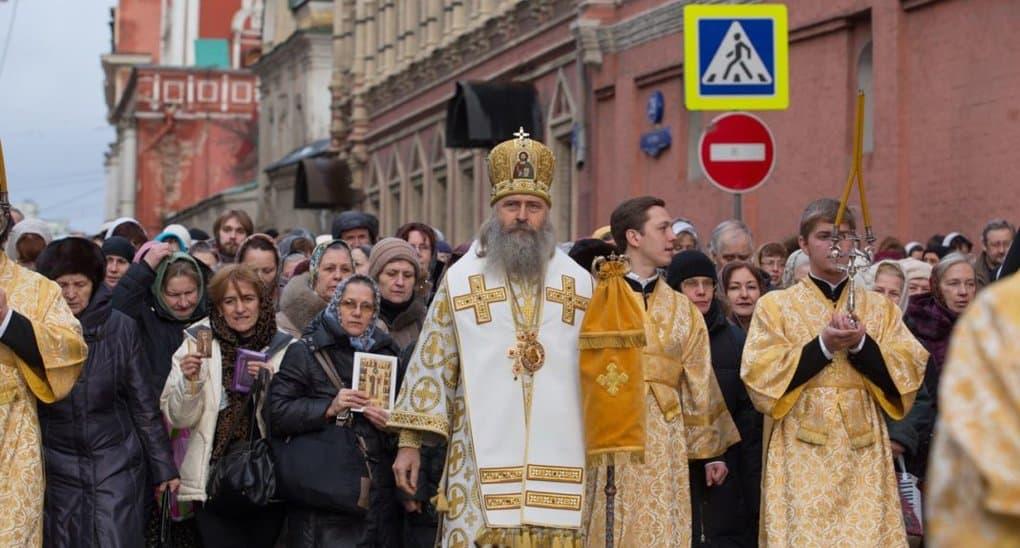 Перед окончанием Рождественского поста в Москве пройдет первый в 2019 году крестный ход
