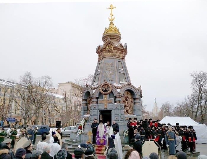 В Москве помолились о солдатах Русской армии – героях Плевны