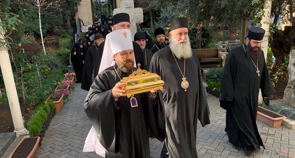Русская Церковь передала в Грузию частицу мощей святой Фамари (Марджановой)