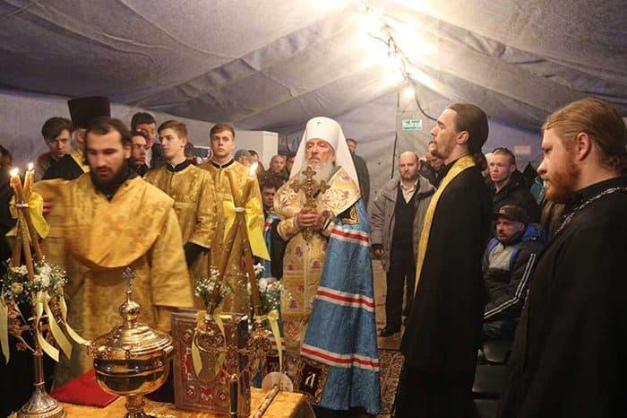 Церковь помогла открыть первый в Тюмени пункт обогрева для бездомных
