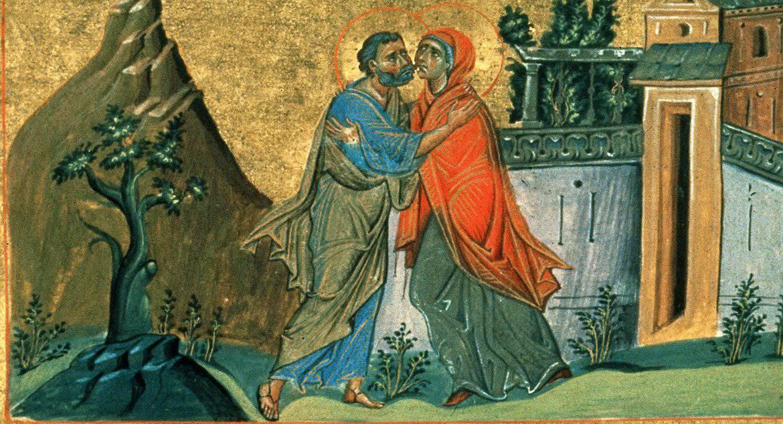 Церковь празднует Зачатие праведной Анною Пресвятой Богородицы