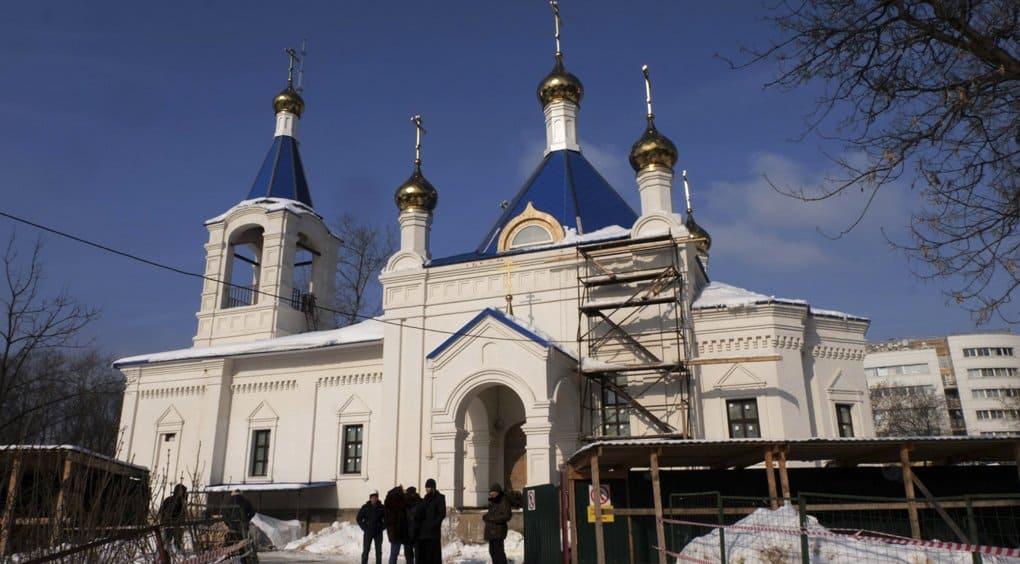 Сдан первый храмовый комплекс Москвы в честь святой княгини Ольги