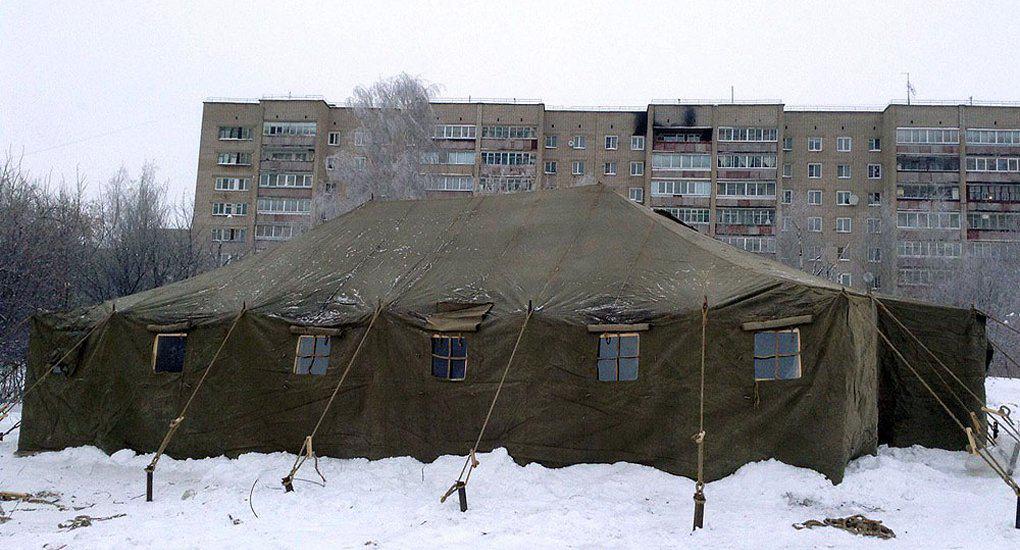 Бездомные Кирова согреются в палатке, которую открыли православные волонтеры