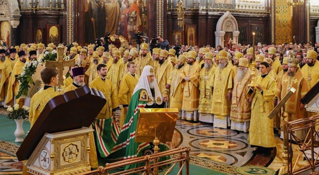 Рождественские чтения-2019 открылись в Москве с Патриаршей Литургии