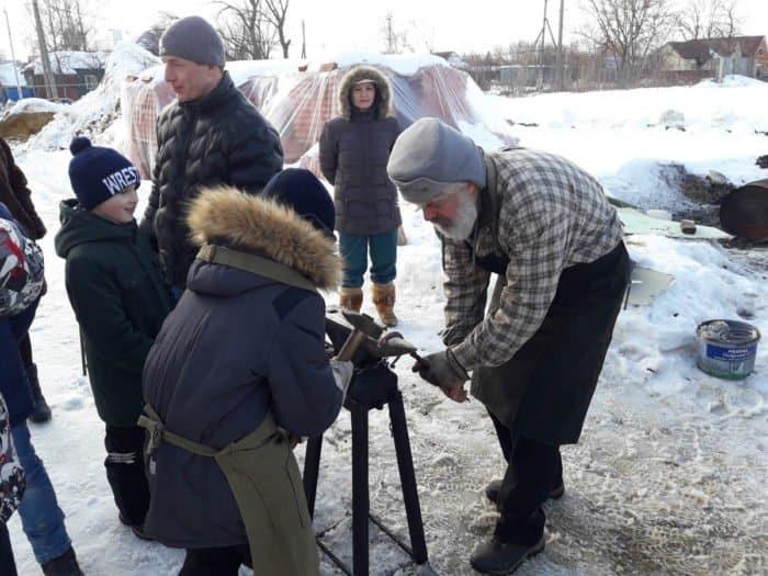 День православной молодежи на бывшей ватной фабрике
