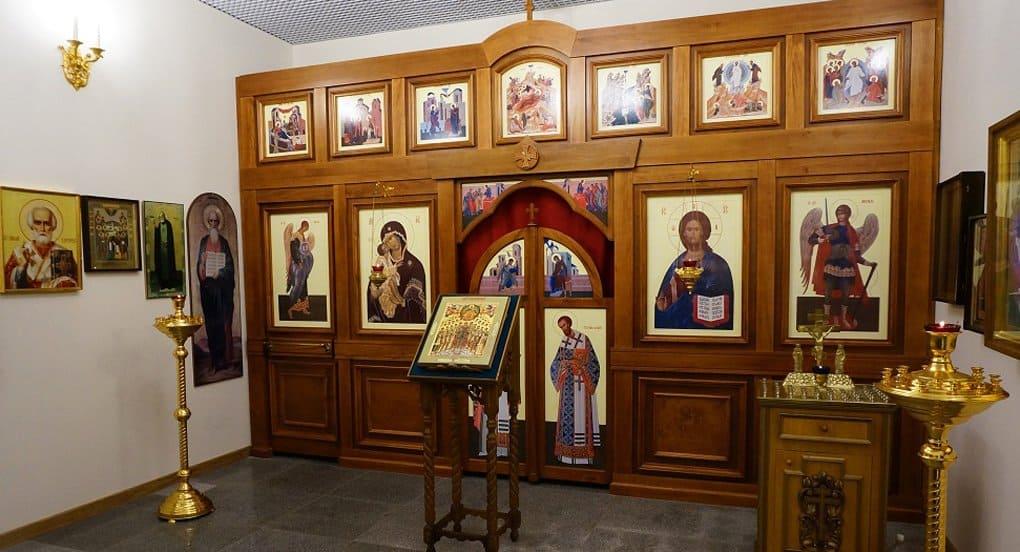 В аэропорту «Шереметьево» вновь открылась часовня архангела Михаила