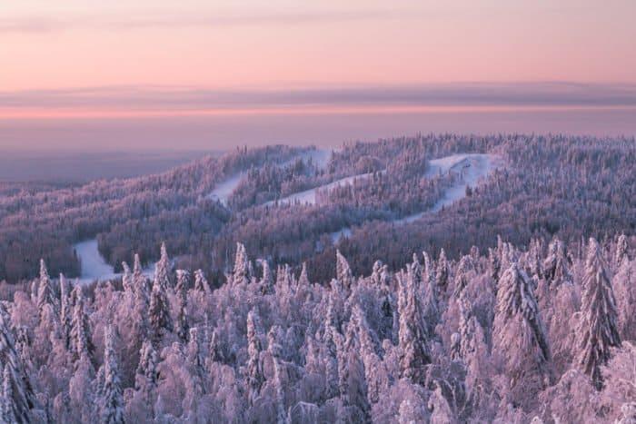 Рождественское утро в Белогорье: немного снежной тишины накануне весны