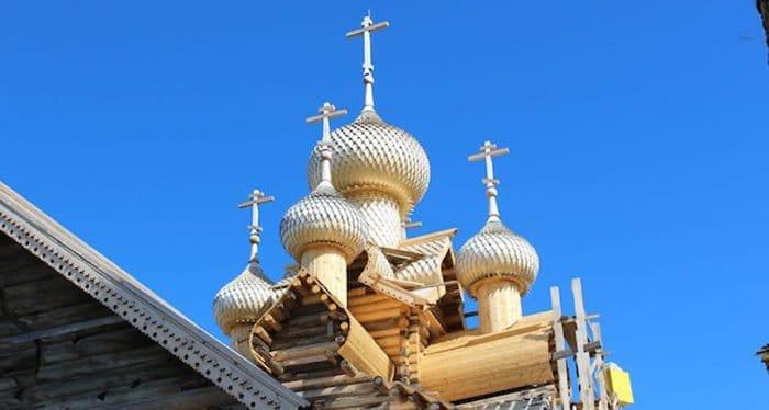 Уникальный деревянный храм XVIII века восстановили на Вологодчине