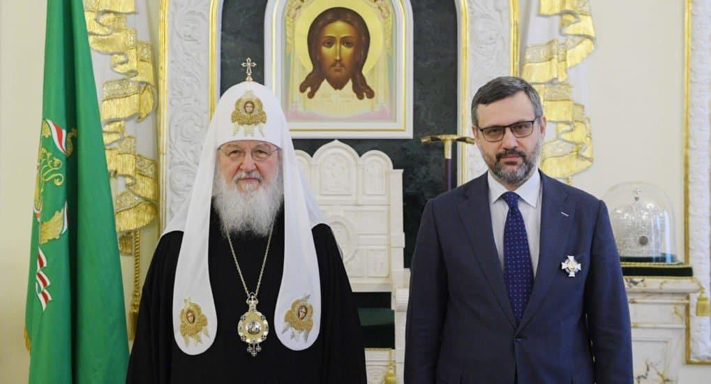 Владимир Легойда награжден орденом святого князя Даниила Московского III степени
