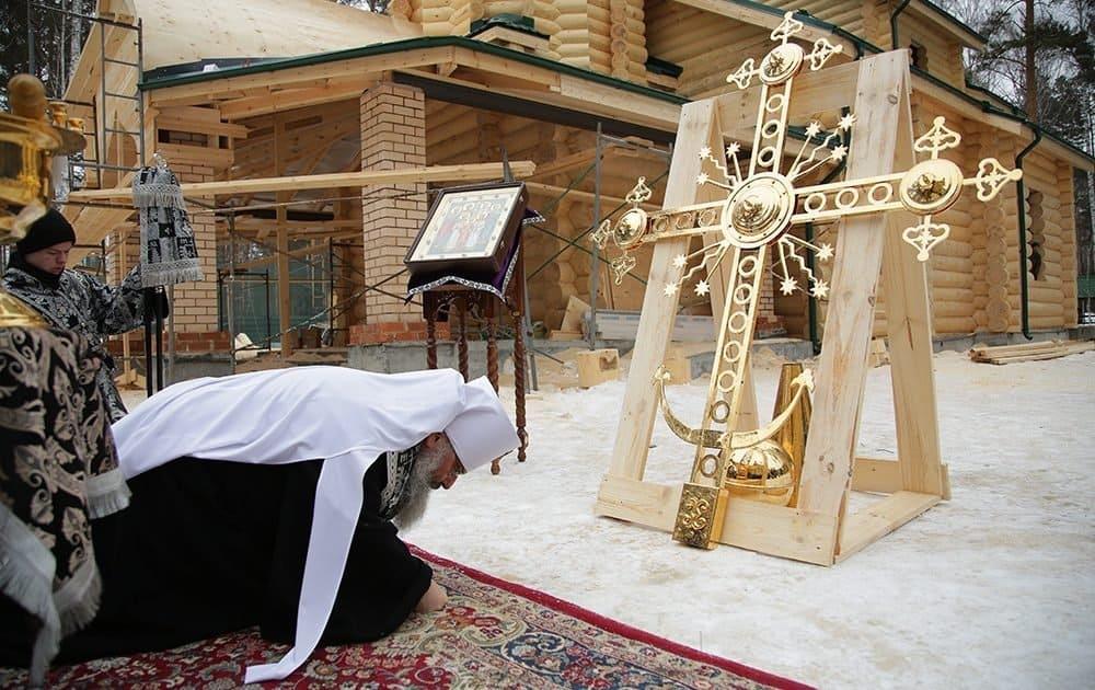 Крест Царского храма возле Ганиной ямы