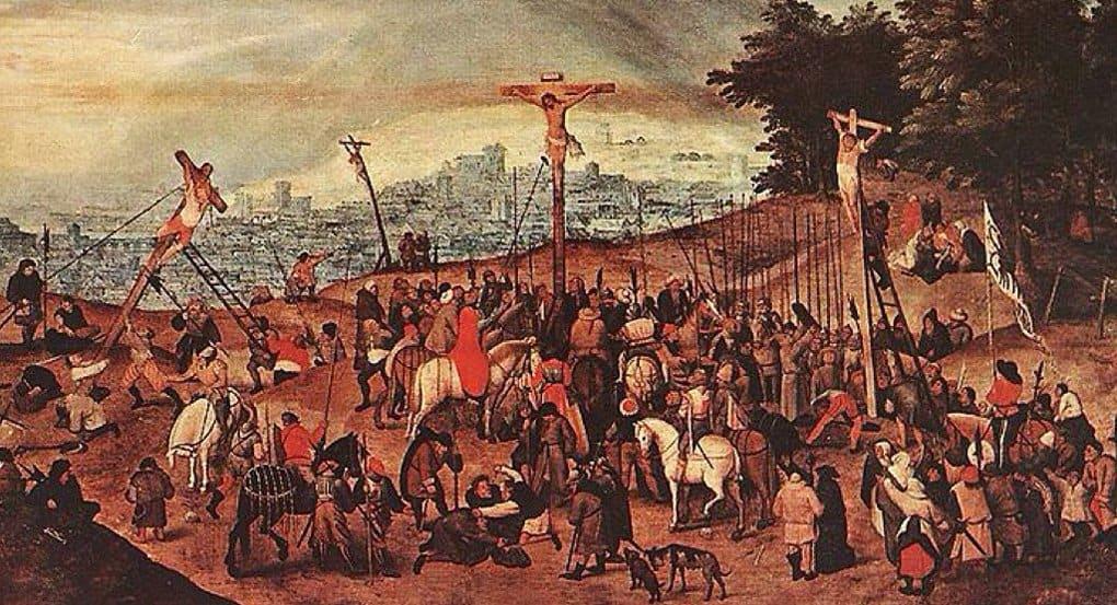 Похитителям картины Брейгеля-младшего «Распятие» подсунули ее копию