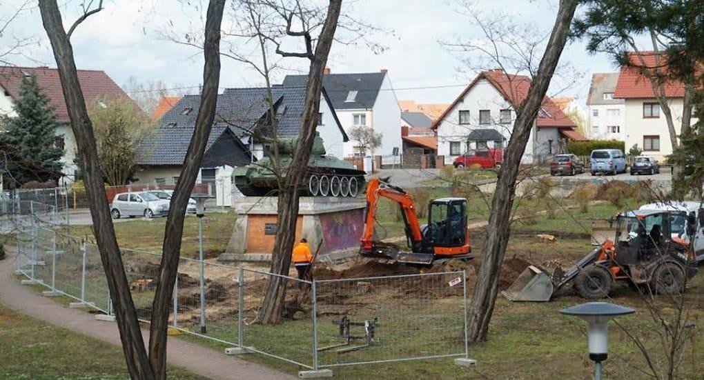 В немецком Торгау реставрируют один из немногих уцелевших в Европе Т-34