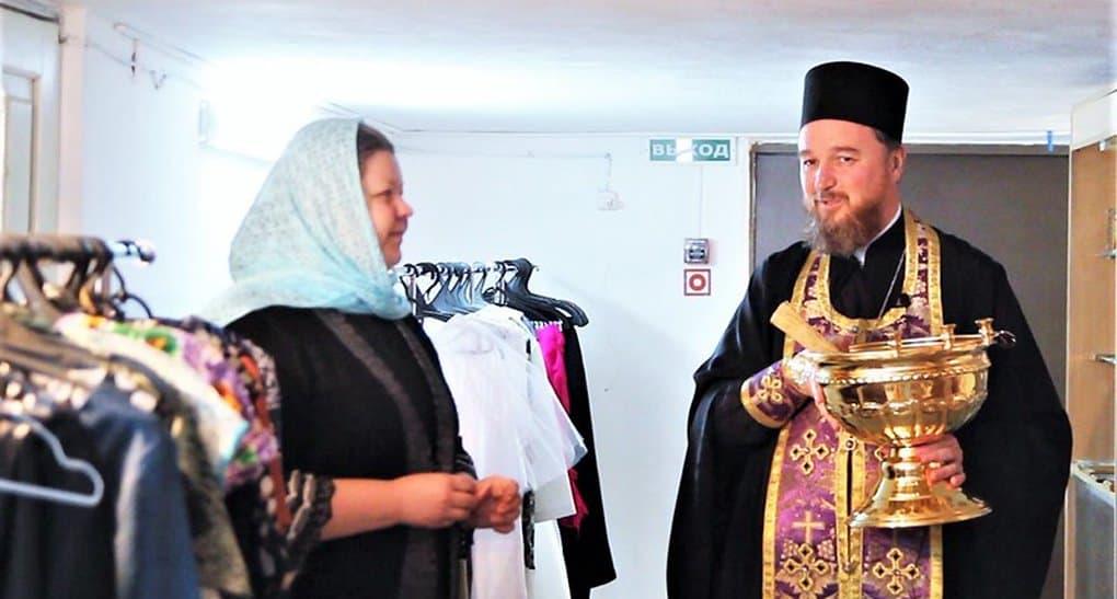 Центр гуманитарной помощи открыла Церковь на Ставрополье