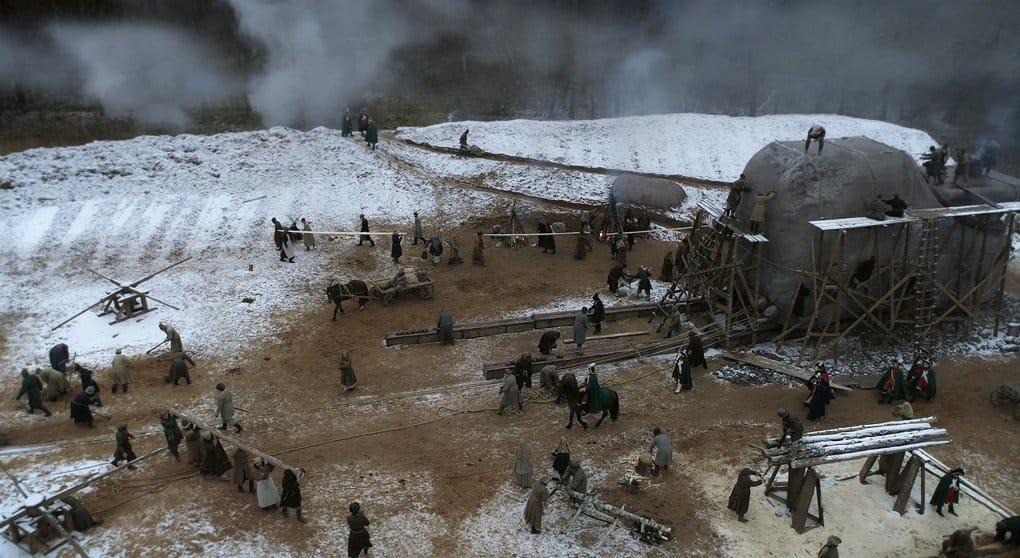О создании памятника «Медный всадник» сняли художественный фильм