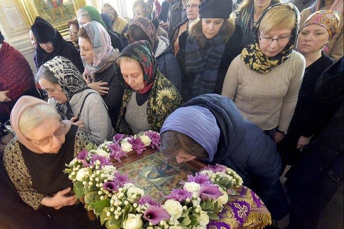 В Вырице и Петербурге отметили 70-летие преставления преподобного Серафима Вырицкого