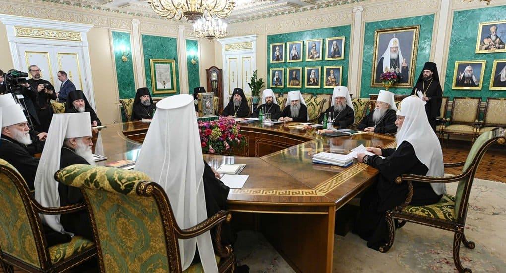 Священный Синод поддержал заявление Украинской Церкви по ситуации с православием в стране и мире