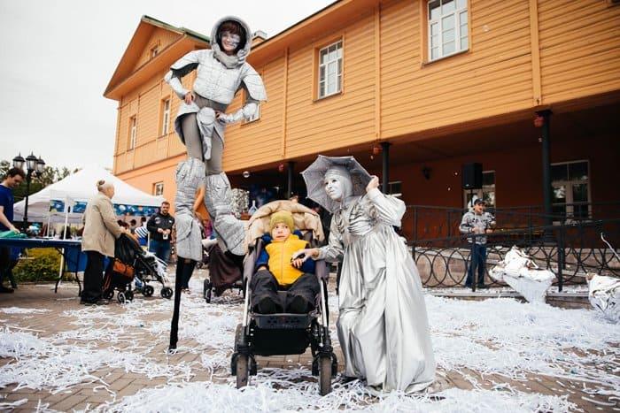 16 лет добрых дел: Детский хоспис Петербурга отметил «космический» день рождения