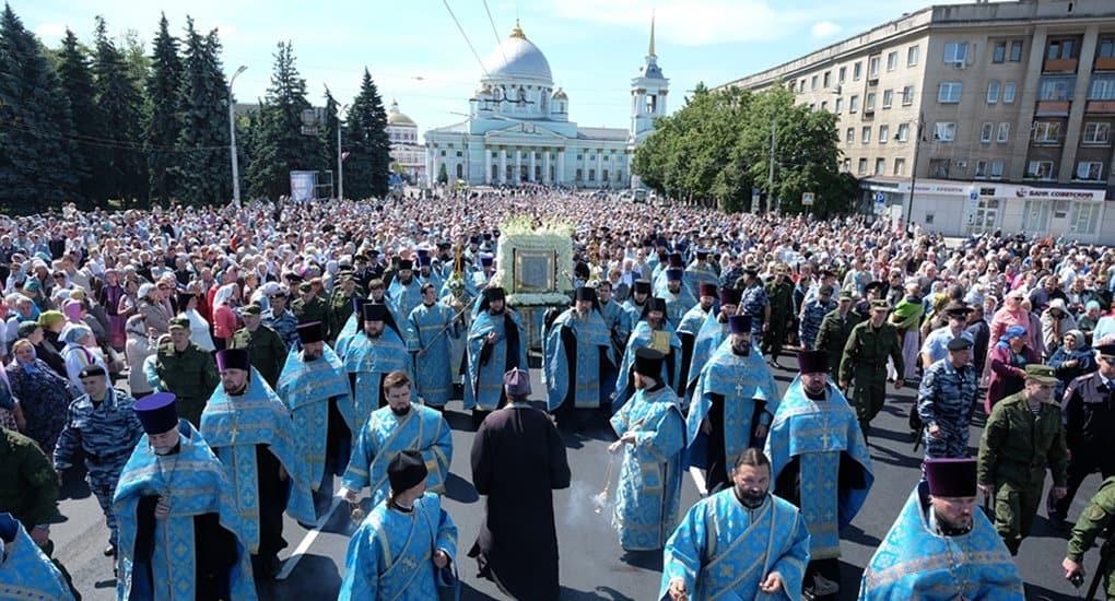 Два крупнейших в России крестных хода пройдут в июне на Курской земле