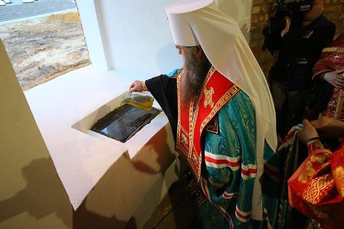 В Сарове начали возрождать храм в честь иконы «Живоносный Источник»