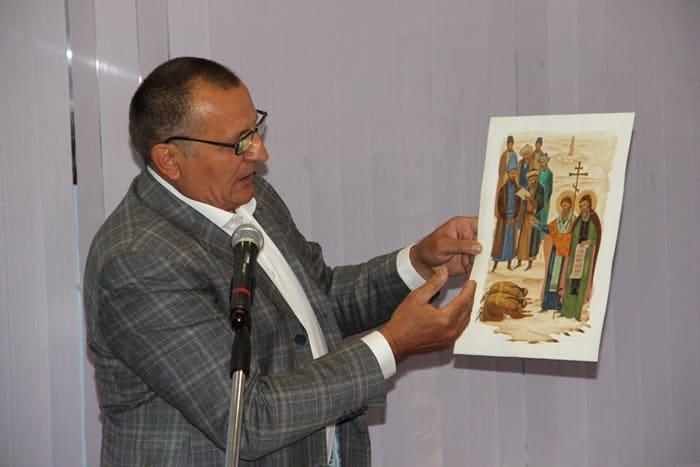 Представлен калмыцкий перевод жития святых Кирилла и Мефодия