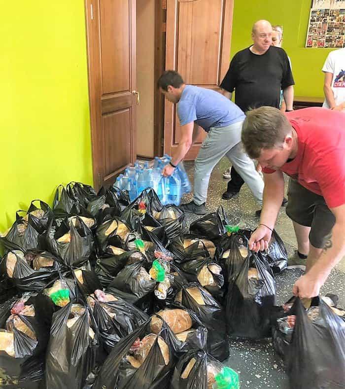 Церковь передала гуманитарную помощь пострадавшим от паводка в Канске