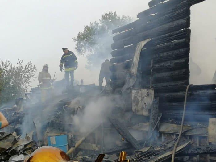 При пожаре в курганском монастыре почти полностью сгорела церковь XIX века