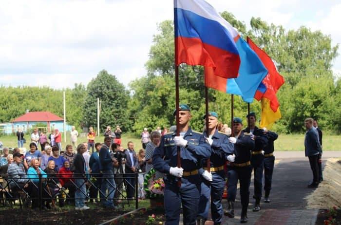 В тамбовской Ильинке увековечили память более 400 воинов Великой Отечественной