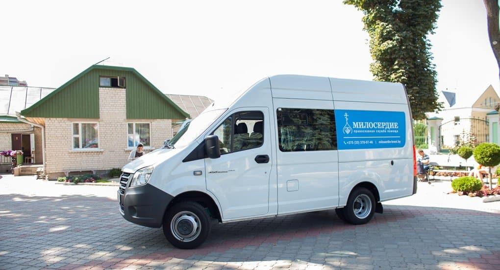 Первый белорусский «Автобус милосердия» поехал по Бресту