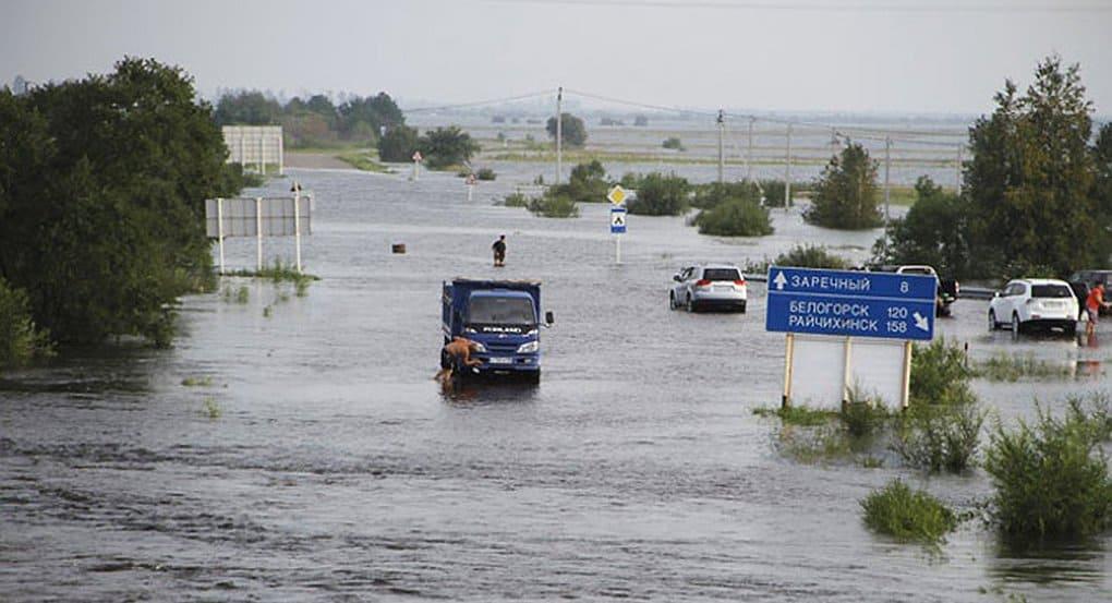 Русская Церковь помогает пострадавшим от паводка в Приамурье