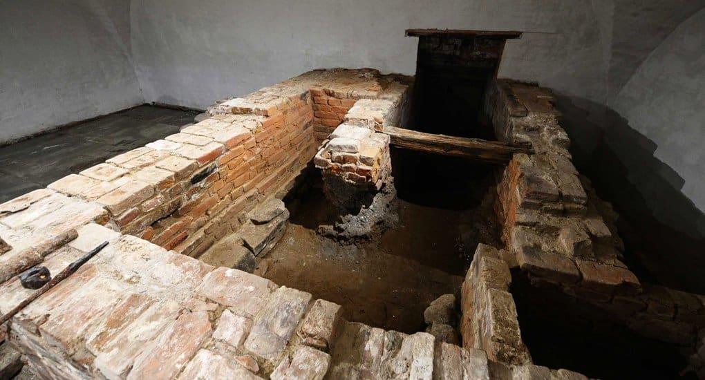 Остатки производственного комплекса XVII века нашли в Соловецком монастыре