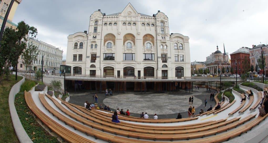 В Москве появилась пешеходная зона «Музейный парк»