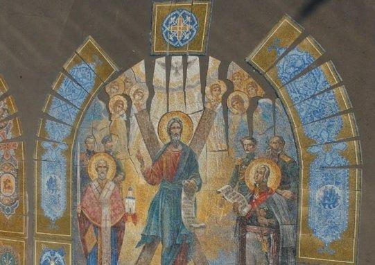 Для главного храма Вооруженных сил России создали мозаичные тимпаны