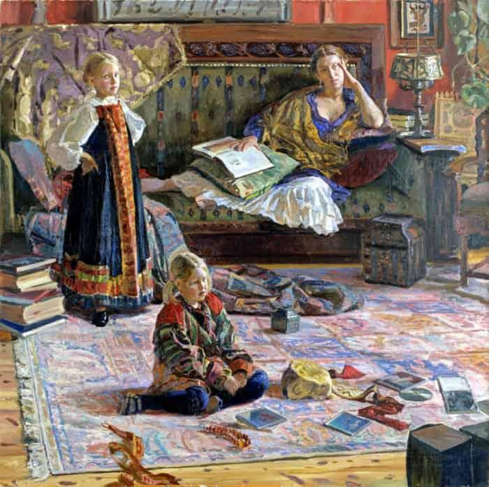 5 картин Ивана Глазунова, про каждую из которых он рассказал особую историю
