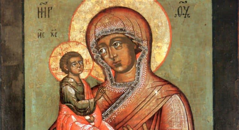 Церковь чтит Иерусалимскую икону Божией Матери
