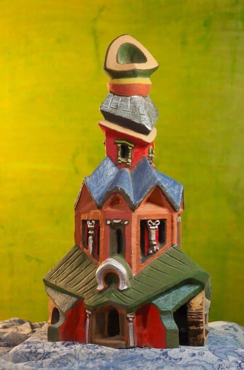 Храм из другого пространства: выставка футуристической православной архитектуры в РПУ